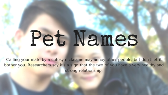The Importance Of Pet Names In Relationships