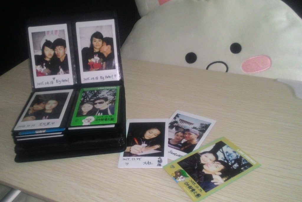 Instax album collection