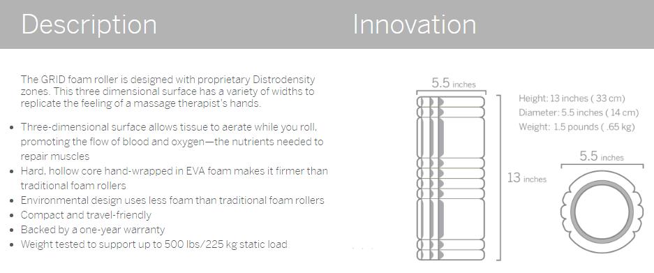 TriggerPoint-Foam-roller-info